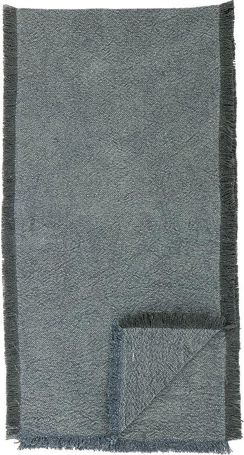 På billedet ser du variationen Cozy, Bord løber, Jute, Bomuld fra brandet Creative Collection i en størrelse B: 40 cm. L: 160 cm. i farven Grøn