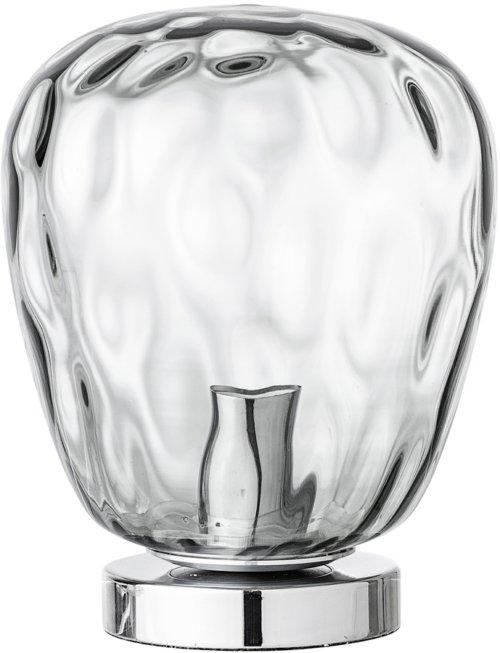På billedet ser du variationen Nordic, Bordlampe, Sølvfarvet fra brandet Bloomingville i en størrelse D: 20 cm. H: 27 cm. i farven Grå