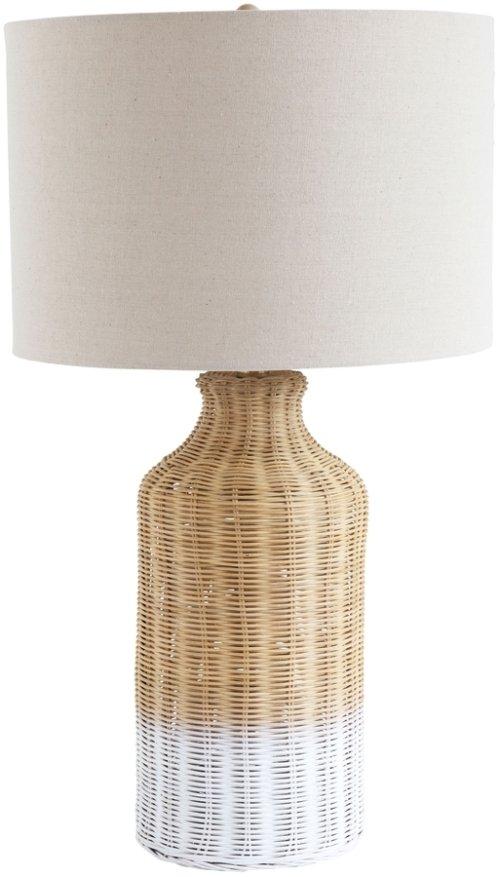 På billedet ser du variationen Jumbled Ex, Bordlampe, Bambus fra brandet Creative Collection i en størrelse D: 18 cm. H: 68 cm. i farven Natur