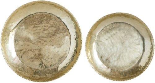 På billedet ser du variationen Gatherings, Bakke, Aluminium fra brandet Creative Collection i en størrelse D: 48,5 cm. H: 6,5 cm. i farven Messing