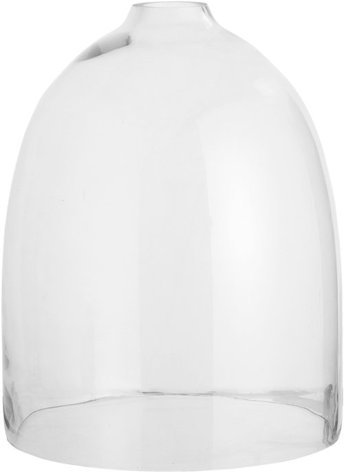 På billedet ser du variationen Ivory, Deko Kuppel, Glas fra brandet Bloomingville i en størrelse D: 25 cm. H: 32 cm. i farven Klar
