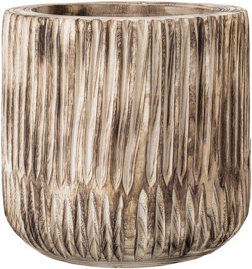 På billedet ser du variationen Nordic, Urtepotte, Paulownia træ fra brandet Creative Collection i en størrelse D: 31 cm. H: 31 cm. i farven Natur