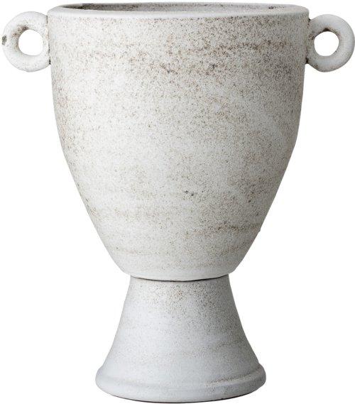 På billedet ser du variationen Cozy, Dekoration, Terrakotta, Hvid fra brandet Bloomingville i en størrelse D: 23,5 cm. H: 36 cm. i farven Hvid