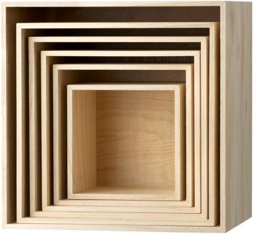 På billedet ser du variationen Nordic, Display kasse, Paulownia træ fra brandet Bloomingville i en størrelse H: 35 cm. B: 26,6 cm. L: 18 cm. i farven Natur