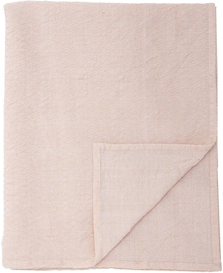 Cozy, Dug, Bomuld, OEKO-TEX by Bloomingville (B: 140 cm. L: 240 cm., Lyserød)