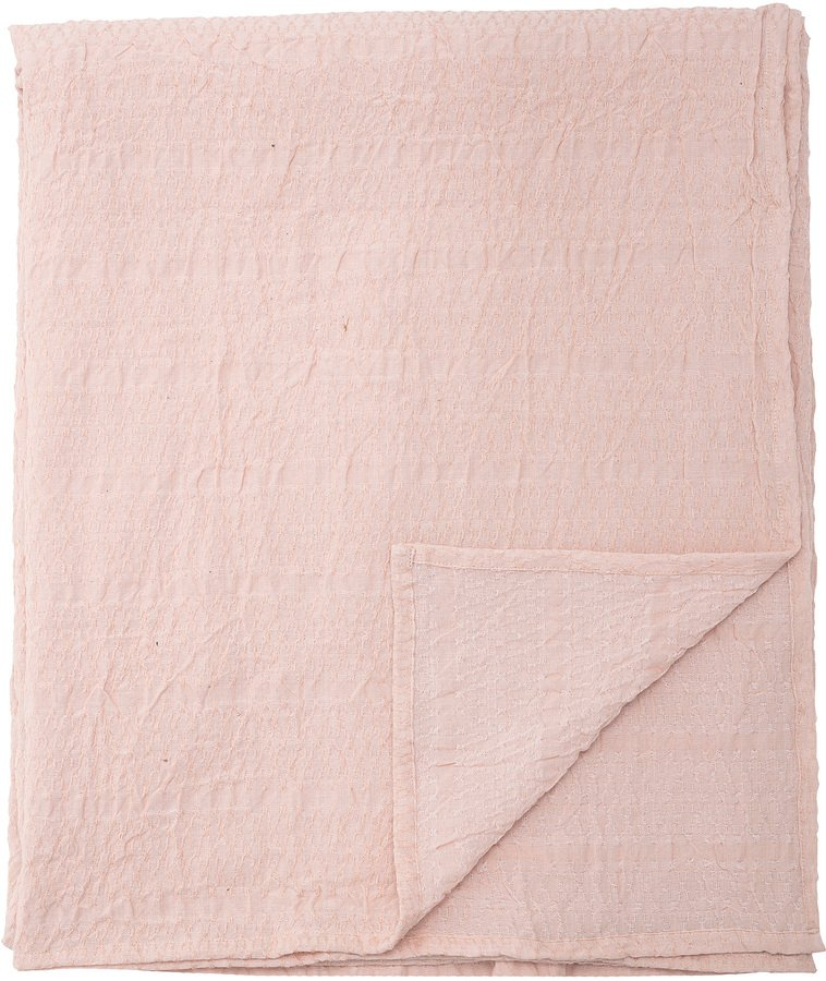 Cozy, Dug, Bomuld, OEKO-TEX by Bloomingville (B: 140 cm. L: 340 cm., Lyserød)