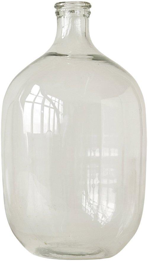På billedet ser du variationen Boho Livin, Flaske, Glas fra brandet Creative Collection i en størrelse D: 27 cm. H: 48 cm. i farven Klar