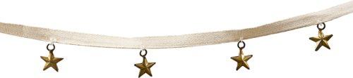 På billedet ser du variationen Guirlande, On Tape, Star fra brandet House Doctor i en størrelse L: 180 cm. i farven Antik Metallisk
