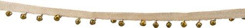 På billedet ser du variationen Guirlande, On Tape, Bell fra brandet House Doctor i en størrelse L: 180 cm. i farven Antik Metallisk
