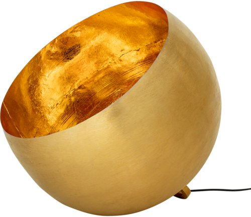 På billedet ser du variationen Cozy, Gulvlampe, Guldbelagt fra brandet Bloomingville i en størrelse D: 50 cm. H: 46 cm. i farven Guld