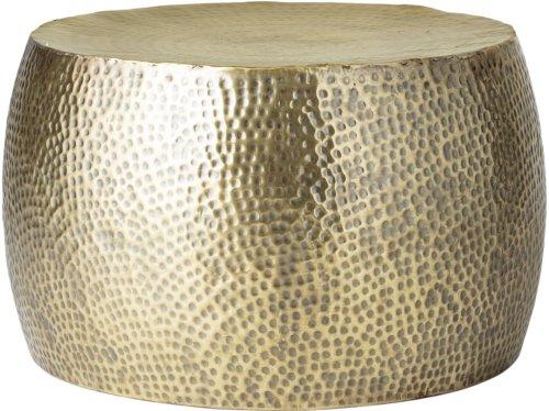 På billedet ser du variationen Cozy, Sofabord, Jern fra brandet Bloomingville i en størrelse D: 50 cm. H: 34 cm. i farven Messing