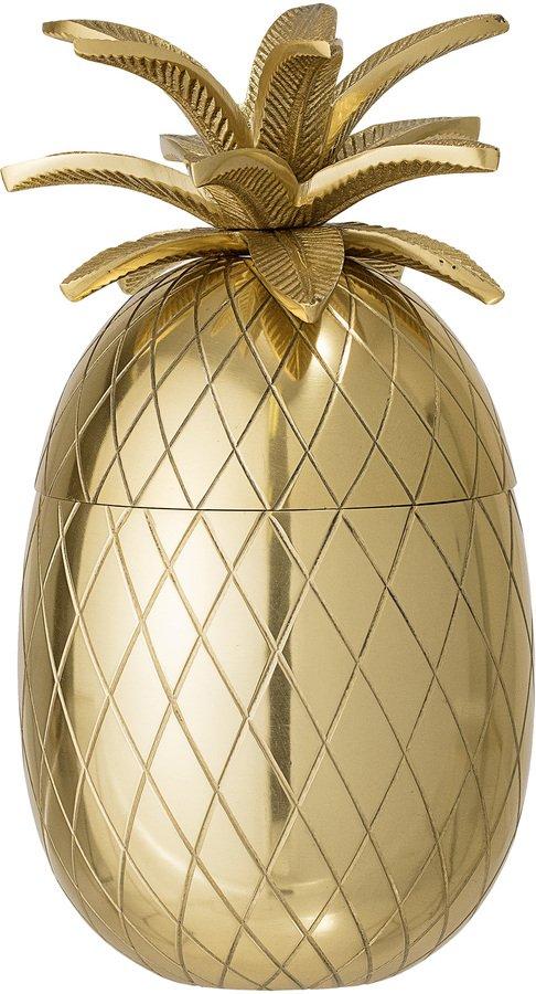 På billedet ser du variationen Golden Jun, Isspand, Aluminium fra brandet Bloomingville i en størrelse D: 13 cm. H: 24 cm. i farven Guld