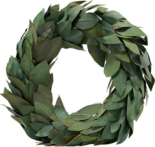 På billedet ser du variationen Krans, Christmas fra brandet House Doctor i en størrelse Ø: 45 cm. i farven Grøn