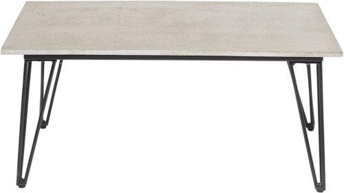 På billedet ser du variationen Mundo, Sofabord, Cement fra brandet Bloomingville i en størrelse H: 42 cm. B: 60 cm. L: 90 cm. i farven Grå