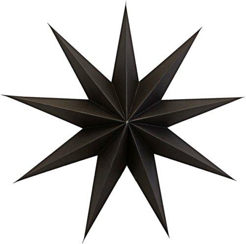 På billedet ser du variationen Stjerne, 9 Point fra brandet House Doctor i en størrelse B: 45 cm. i farven Brun