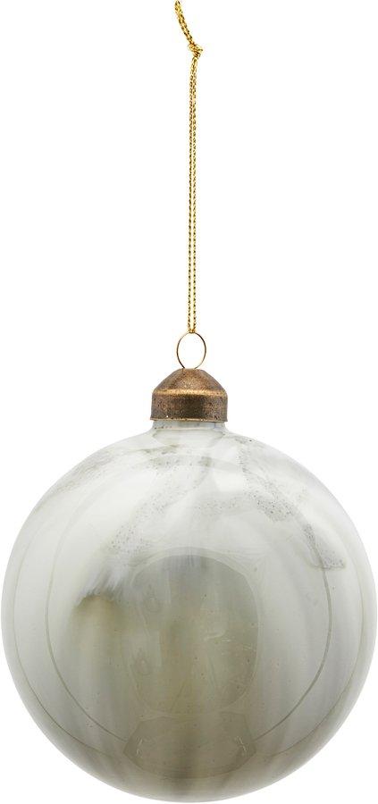 På billedet ser du variationen Ornament, Brush fra brandet House Doctor i en størrelse Ø: 10 cm. i farven Grå/Grøn