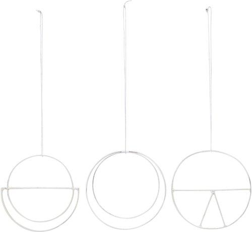 På billedet ser du variationen Ornament, Dream fra brandet House Doctor i en størrelse Ø: 6,5 cm. i farven Sølv