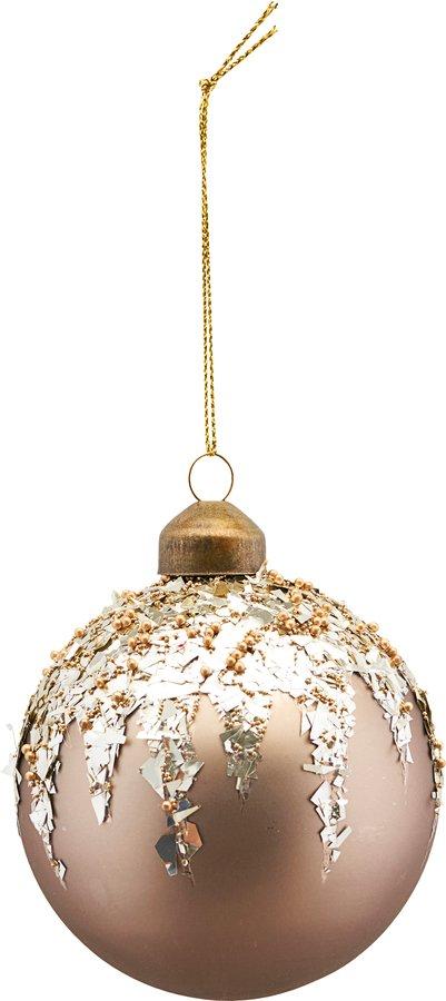 På billedet ser du variationen Ornament, Flake fra brandet House Doctor i en størrelse Ø: 10 cm. i farven Beige
