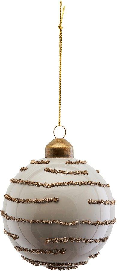 På billedet ser du variationen Ornament, Gold, Vertical fra brandet House Doctor i en størrelse Ø: 8 cm. i farven Grå