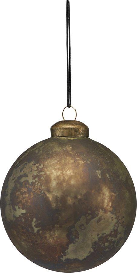 På billedet ser du variationen Ornament, Nuance fra brandet House Doctor i en størrelse Ø: 8 cm. i farven Antik Metallisk