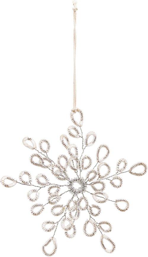 På billedet ser du variationen Ornament, Plenty fra brandet House Doctor i en størrelse B: 11 cm. L: 13 cm. i farven Sølv