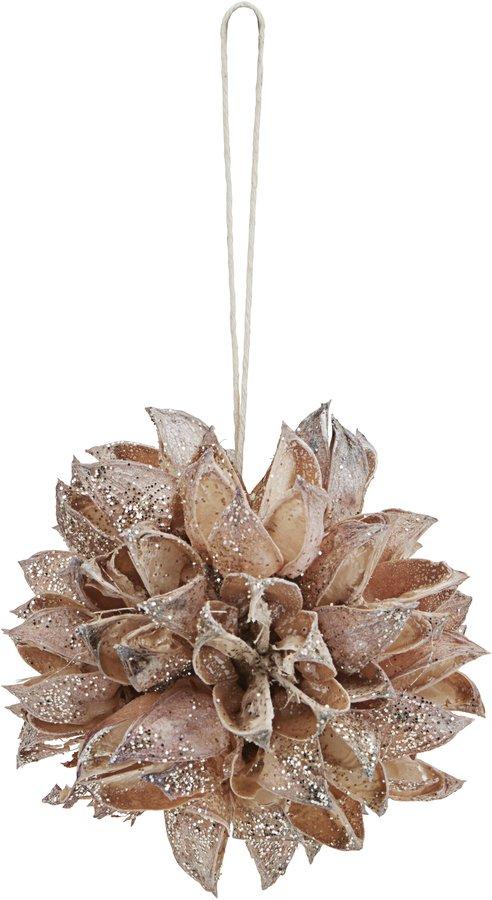 På billedet ser du variationen Ornament, Seeds fra brandet House Doctor i en størrelse Ø: 6 cm. i farven Natur