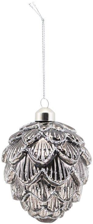 På billedet ser du variationen Ornament, Corne, Glim fra brandet House Doctor i en størrelse L: 9,9 cm. i farven Lysebrun