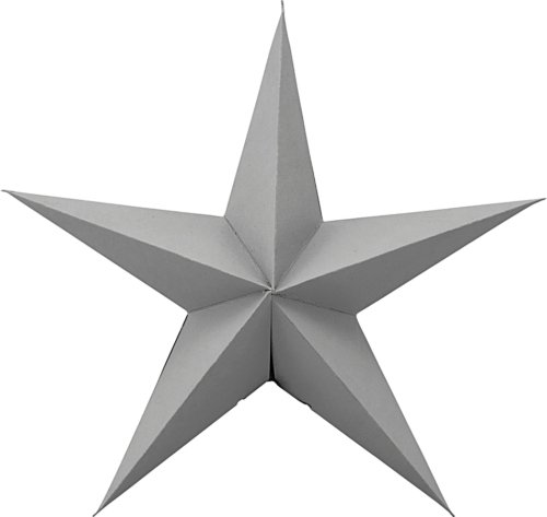 På billedet ser du variationen Ornament, Star fra brandet House Doctor i en størrelse Ø: 25 cm. i farven Grå