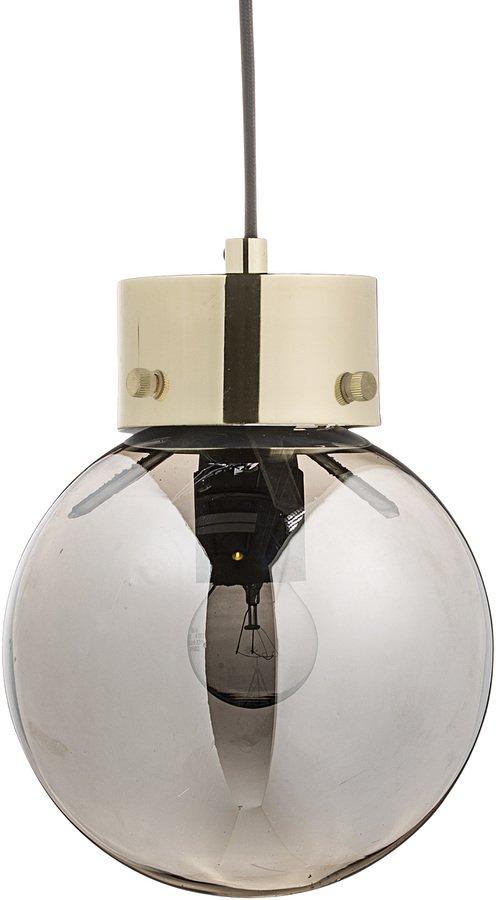 På billedet ser du variationen Cozy, Pendel, Glas, Metal fra brandet Bloomingville i en størrelse D: 18 cm. H: 22 cm. i farven Sølv