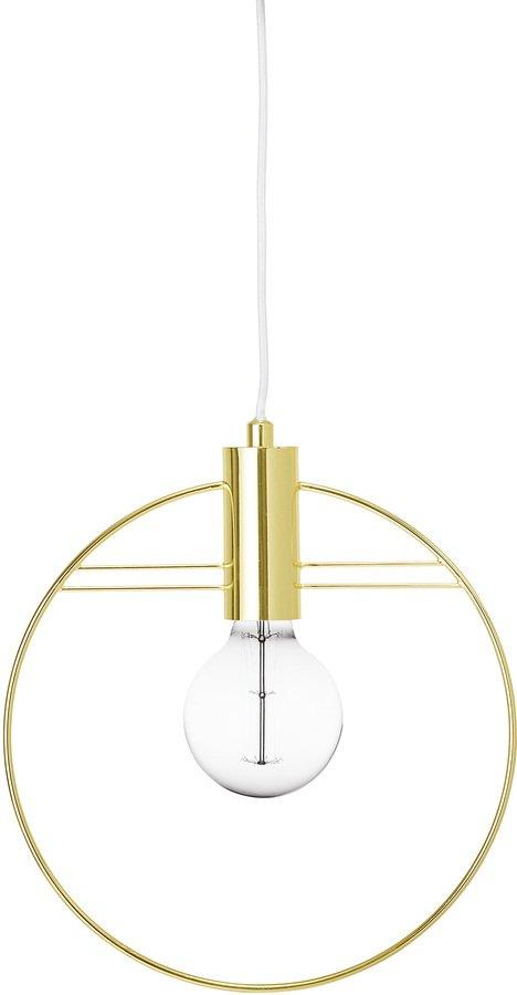 På billedet ser du variationen Pendel, Jern fra brandet Bloomingville i en størrelse D: 30 cm. i farven Guld