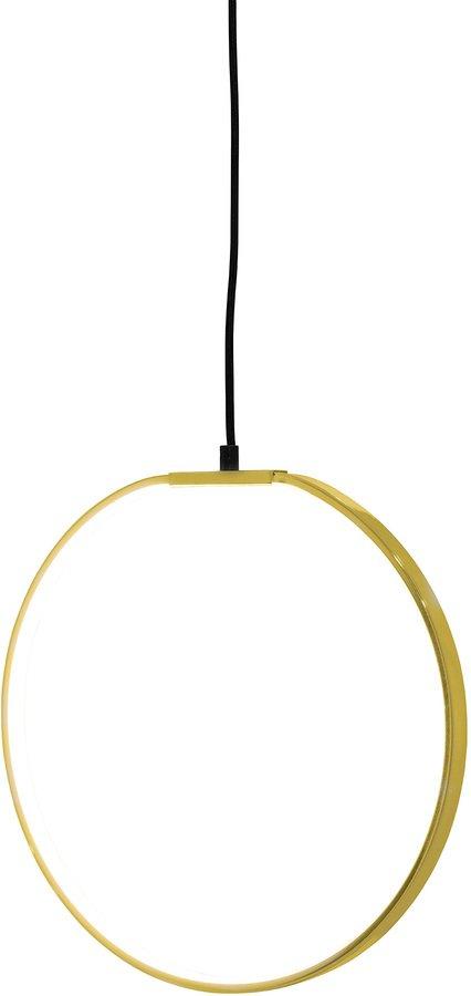 På billedet ser du variationen Nordic, Pendel, Aluminium fra brandet Bloomingville i en størrelse D: 35 cm. i farven Guld