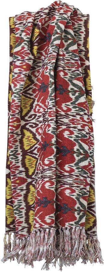 På billedet ser du variationen Nordic, Plaid, Bomuld fra brandet Creative Collection i en størrelse B: 127 cm. L: 150 cm. i farven Multifarvet