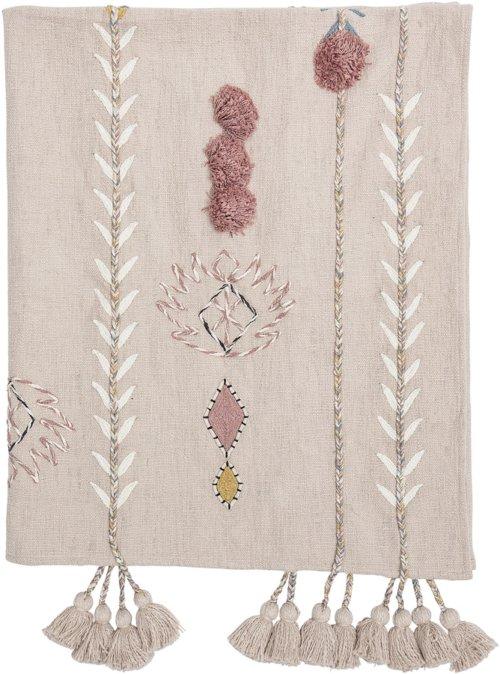 På billedet ser du variationen Cozy, Plaid, Bomuld fra brandet Creative Collection i en størrelse B: 125 cm. L: 150 cm. i farven Rosa