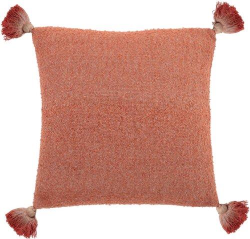 På billedet ser du variationen Cozy, Pude, Bomuld fra brandet Bloomingville i en størrelse B: 45 cm. L: 45 cm. i farven Orange
