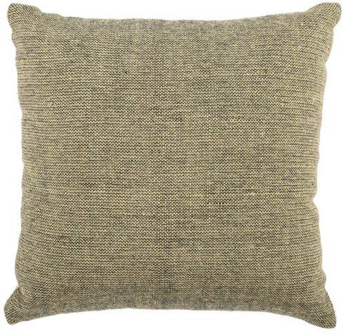 På billedet ser du variationen Cozy, Pude, Uld, Polyester fra brandet Bloomingville i en størrelse B: 45 cm. L: 45 cm. i farven Gul