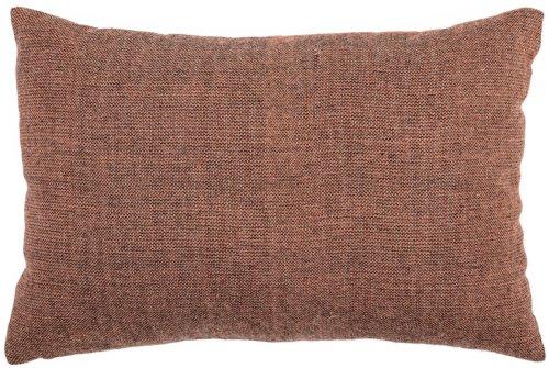 På billedet ser du variationen Cozy, Pude, Uld, Polyester fra brandet Bloomingville i en størrelse B: 40 cm. L: 60 cm. i farven Rød
