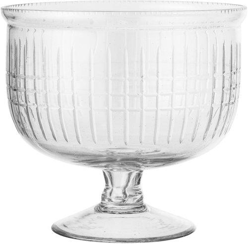 På billedet ser du variationen Cozy, Punch Bowle, Glas fra brandet Bloomingville i en størrelse D: 23,5 cm. H: 21 cm. i farven Klar