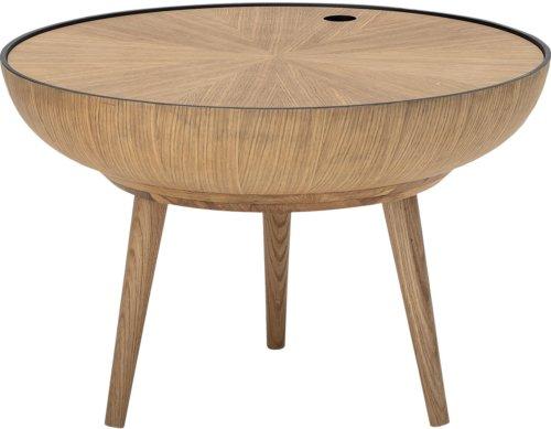 På billedet ser du variationen Nordic, Sofabord, Egetræ fra brandet Bloomingville i en størrelse D: 60 cm. H: 40 cm. i farven Natur