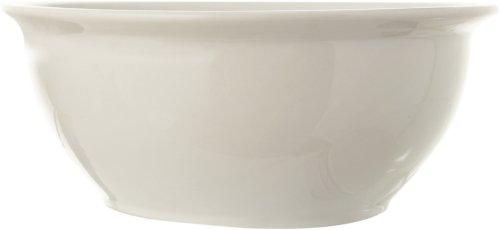 På billedet ser du variationen Gatherings, Skål, Stentøj keramik fra brandet Creative Collection i en størrelse D: 30,5 cm. H: 12,5 cm. i farven Hvid