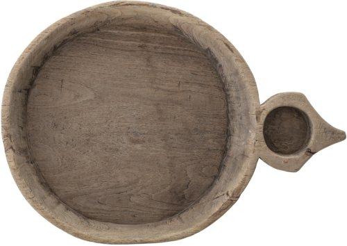 På billedet ser du variationen Nordic, Skål, Træ fra brandet Creative Collection i en størrelse H: 8,5 cm. B: 37 cm. L: 53 cm. i farven Brun