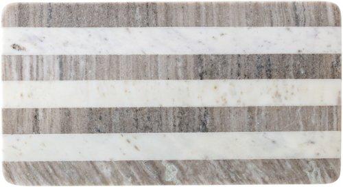 På billedet ser du variationen Jumbled Ex, Skærebræt, Marmor fra brandet Bloomingville i en størrelse B: 28 cm. L: 52 cm. i farven Natur