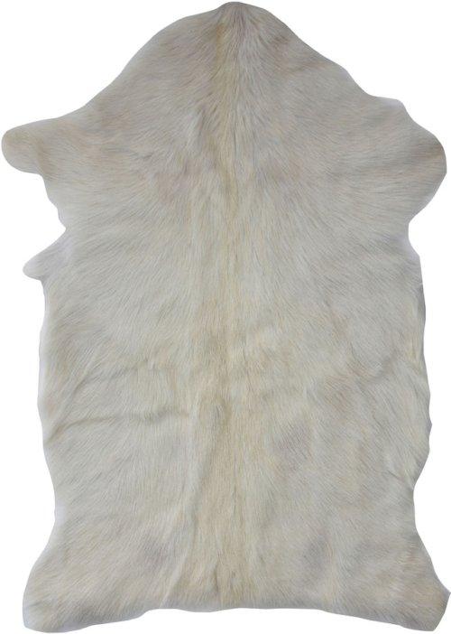 På billedet ser du variationen Collected, Skind, Gedeskind fra brandet Creative Collection i en størrelse B: 50 cm. L: 90 cm. i farven Hvid