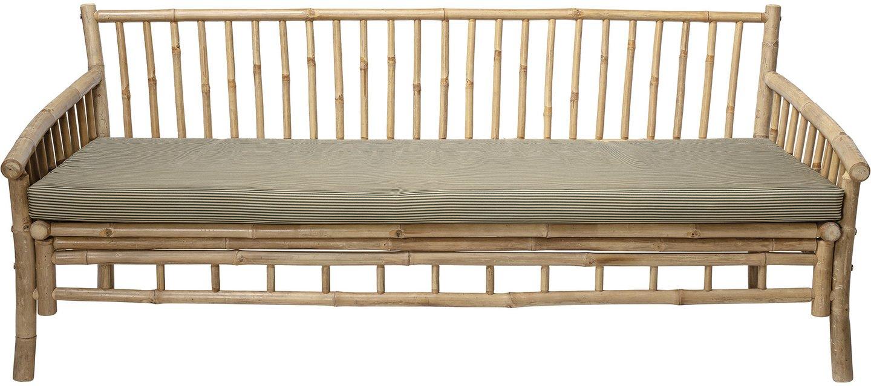 Billede af Cozy, Sofa, Bambus, Polyester by Bloomingville (H: 75 cm. B: 77 cm. L: 175 cm., Natur)