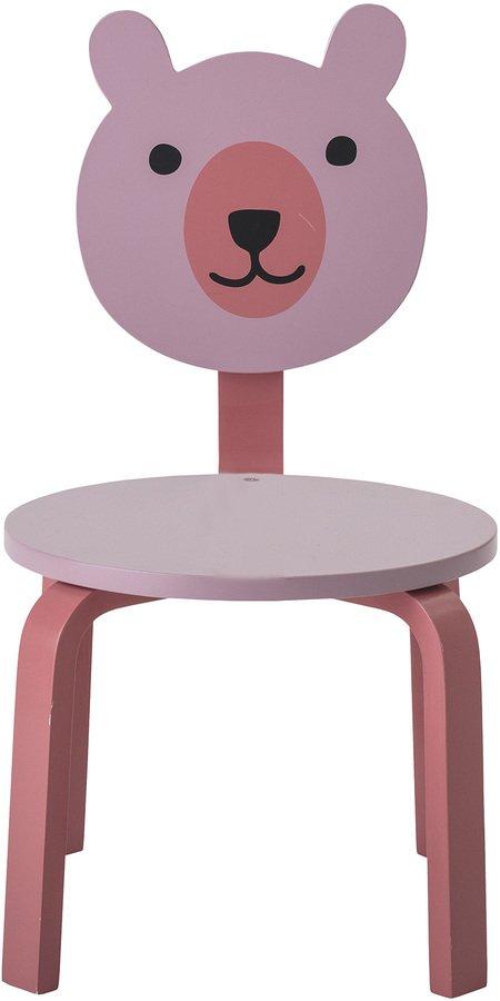 På billedet ser du variationen Mini, Stol, Børneværelset fra brandet Bloomingville i en størrelse H: 60 cm. B: 40 cm. L: 32 cm. i farven Rosa