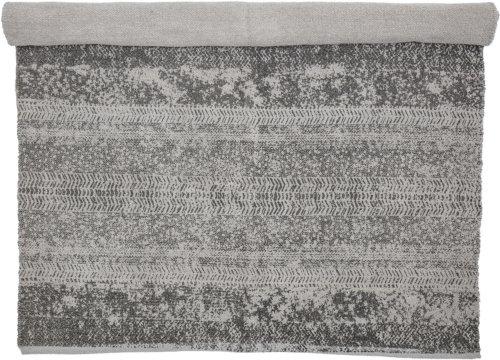 På billedet ser du variationen Cozy, Tæppe, Bomuld fra brandet Bloomingville i en størrelse B: 120 cm. L: 180 cm. i farven Grå