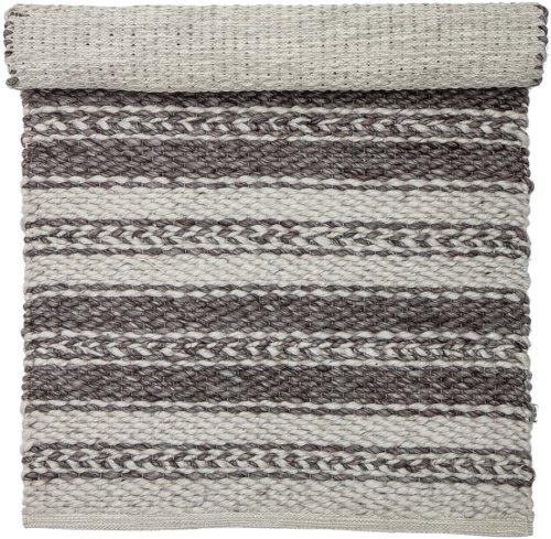 På billedet ser du variationen Nordic, Tæppe, Polyester, Bomuld fra brandet Bloomingville i en størrelse B: 70 cm. L: 140 cm. i farven Multifarvet