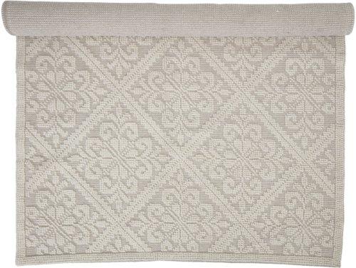 På billedet ser du variationen Cozy, Tæppe med mønster, Bomuld fra brandet Creative Collection i en størrelse B: 150 cm. L: 210 cm. i farven Hvid