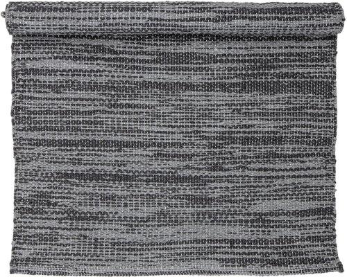 På billedet ser du variationen Cozy, Tæppe, PVC fra brandet Bloomingville i en størrelse B: 60 cm. L: 90 cm. i farven Grå