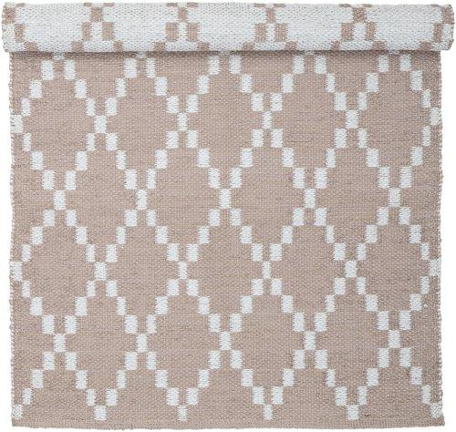 På billedet ser du variationen Nordic, Tæppe, PVC fra brandet Bloomingville i en størrelse B: 70 cm. L: 140 cm. i farven Rosa