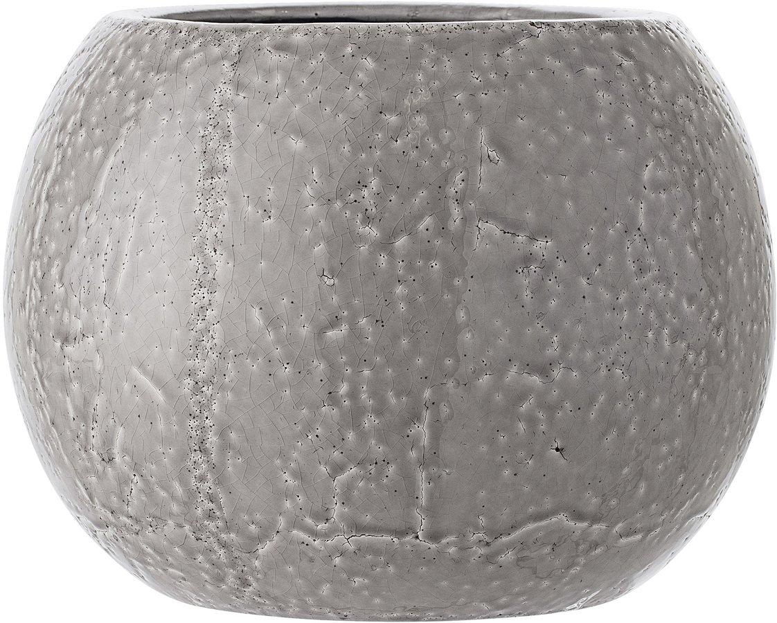 Ivory, Urtepotteskjuler, Stentøj keramik by Bloomingville (D: 29 cm. H: 22 cm., Grå)
